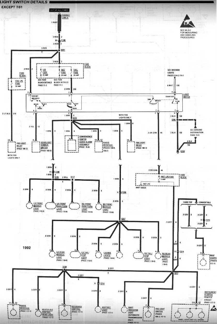 1994 Camaro Turn Signal Wiring Diagram 1968 Chevrolet