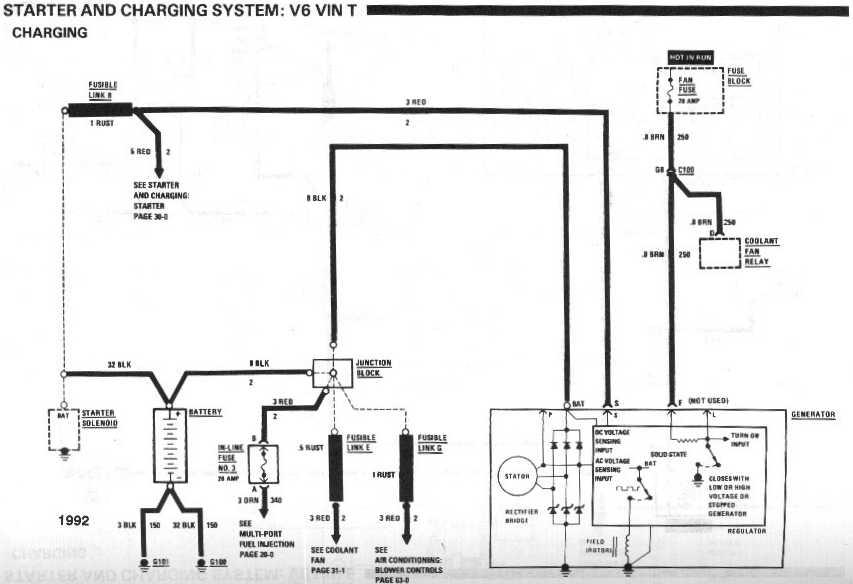 1992 chevy pickup alternator diagram html