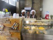 OPEN FOR BUSINESS: Schweet Foods employees Omani Harris and Velvet Gunn and co-owner Chamille Weddington. | IGOR STUDENKOV/Contributor