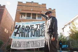BREATHE, THEN FIGHT: Fred Hampton Jr.'s efforts to save the boyhood home of his late father, slain Black Panther Fred Hampton Sr. received a boost of momentum on Sunday, when supporters learned a pending foreclosure auction had been stayed. | SHANEL ROMAIN/Contributor