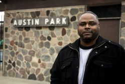LOW TURNOUT: Jamar Thorton, of Austin, said that he was disappointed by the low voter turnout during the April 4 runoff election. | MAYA HORTON/Free Spirit Media