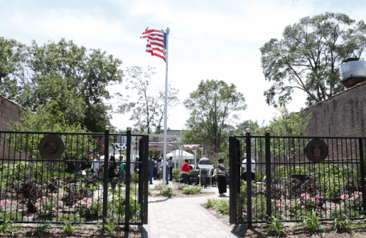 The garden from the gate. | MAIA McDONALD/Contributor