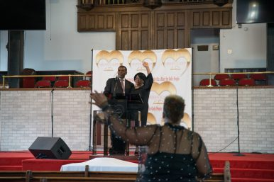 Rev. Ira Acree, shown with his wife in June, has contracted COVID-19, protested after George Floyd and buried a 13 year old all in less than three months. | Shanel Romain