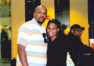 Better times: Clifton Lewis and Latrice Tucker enjoying a night out together.LATRICE TUCKER | Facebook