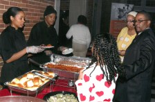 Food provided by Ernie's Restaurant & Catering