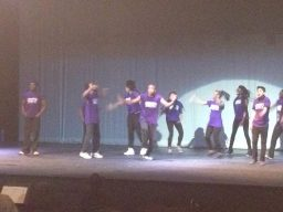 Youth from the After School Matters program performs.