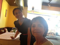 Some of the friendly staff at Na Siam