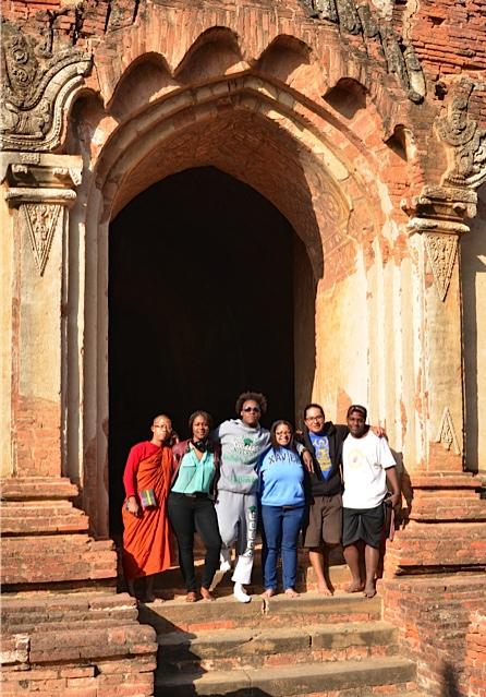 Temple in Bagan, Myanmar. (Photos courtesy Peace Exchange program)