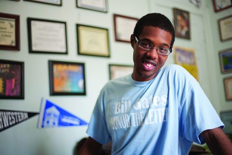Christopher Calhoun was awarded a 0,000 scholarship by the Bill and Melinda Gates Foundation but then got word that it was rescinded. (DAVID PIERINI/Staff Photographer)