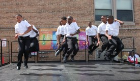 Step with Soul Wayman Steppers from Minneapolis, Minnesota were one of the featured group of performers during the 4th Annual Fitness Fun Fest.