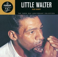 Little Walter Jacobs, one of Chicago's greatest harp players