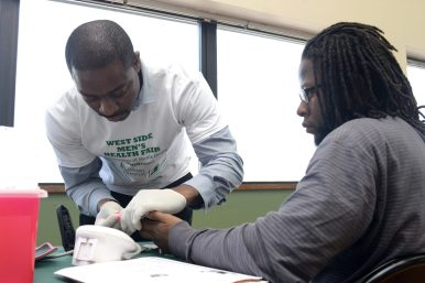 Loretto staff offered free Blood Pressure and Glucose Screenings