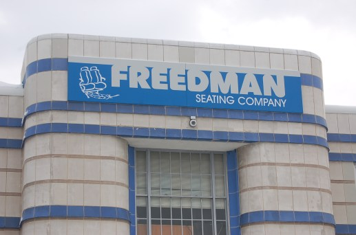 Freedman Seating, the 120-year-old company located on the West Side is looking to hire another 75 people soon with the addition of more manufacturing space. (Michael Romain/Editor).
