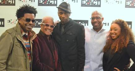 The Blues: (Left to right) George Willborn, George Daniels, Leon, Darryl Pitts, Shawn Zanotti. (Submitted photos)