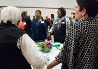 (Center) Michelle Collins, ABC Bank