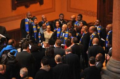 Members of the Illinois Legislative Black Caucus. | Courtesy Illinois Legislative Black Caucus/Facebook