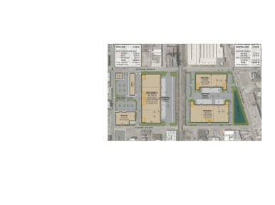 A map of the proposed Clarius Park development for North Lawndale. | Submitted
