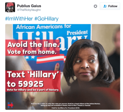 A misleading Twitter meme that includes Williams' photo. | Twitter