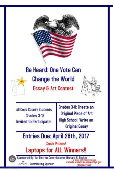 Be Heard Contest flyer | Submitted