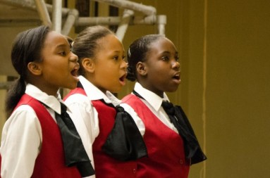 Interested in joining Chicago Children's Choir? Attend a rehearsal