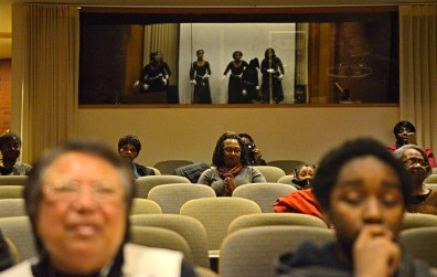 Honor where it is due: Attendees watch the Ella Flagg Young Elementary School Praise Dancers perform during the Dr. Martin Luther King, Jr. celebration and health fair at West Suburban Medical Center in Oak Park. | ALEXA ROGALS/Staff Photographer