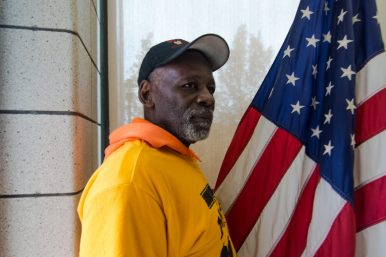 """ON A MISSION: Robert """"Rock"""" Calhoun, Sr., 64, a member of Men Making a Difference, or MMAD, an organization dedicated to reclaiming the physical and emotional landscape of North Lawndale. 