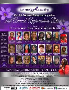 West Side Women of Wisdom and Inspiration's 2nd Annual Appreciation Dinner.