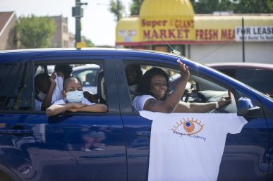 West Siders participate in Danny K. Davis' annual Back-to-School parade last year. | Alex Rogals