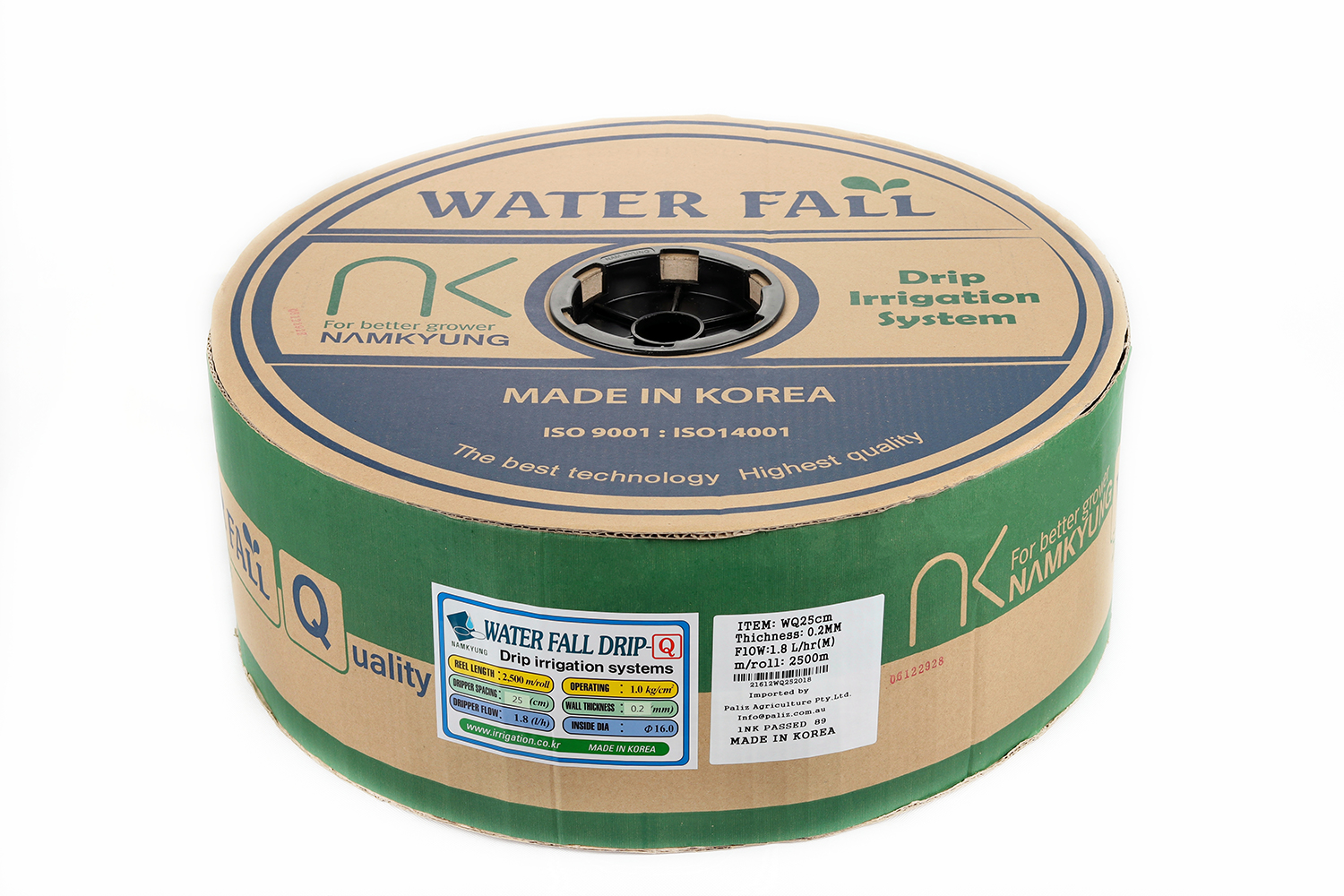 Drip Tape Water Fall-Q | 1.4 L/Hr 15cm