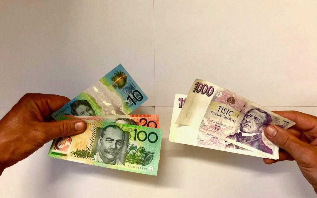 Převod peněz do Austrálie, jak na to