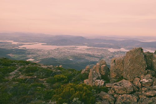 Hobart - From Mount Wellington