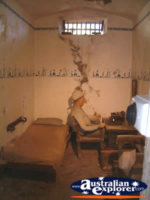 South West Rocks Trial Bay Gaol Room Display Virtual