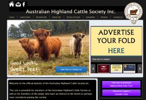 Ennerdale Cattle on AHCS Website