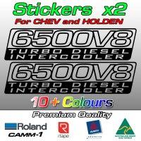 6500V8 Turbo Diesel Intercooler stickers
