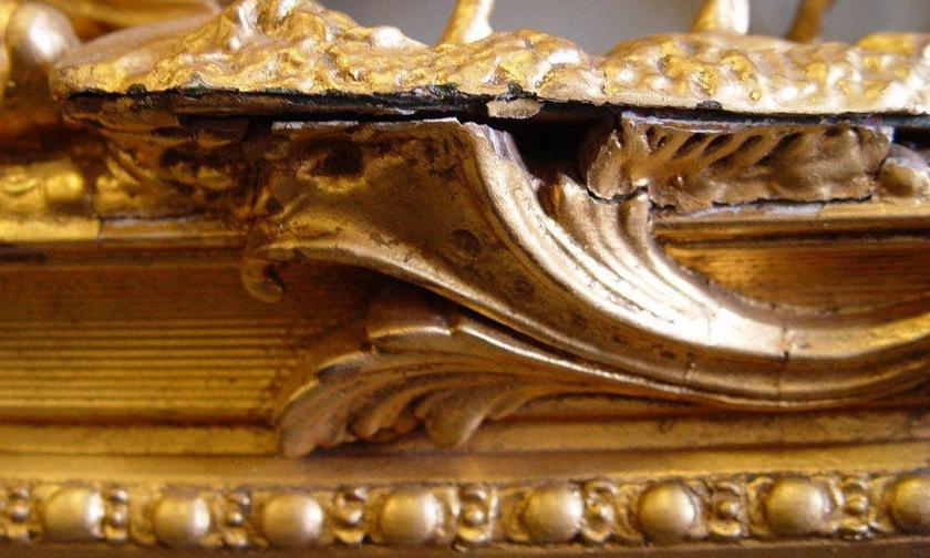 Восстановленная рама