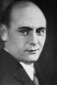 А. М. Азарин. 1933