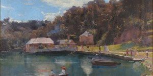 Tom Roberts. Mosman's Bay, 1894