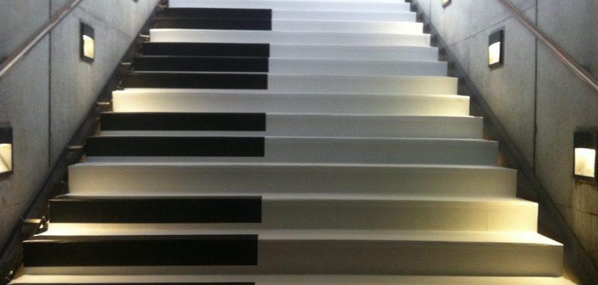 Лестница сиднейского музыкального салона
