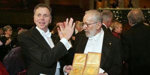 2005: Professor Barry Marshall and Dr J. Robin Warren win the Nobel Prize in Physiology for their discovery of the bacterium