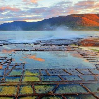 Мозаичная мостовая в Тасмании