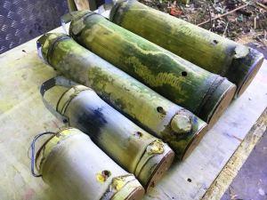 Bamboo trap hives