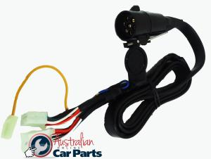 Trailer Wiring Harness suitable for Holden Commodore VT VX VY VZ Genuine round plug 92140147