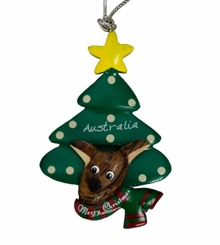 Dog christmas decorations australia for Australian christmas decoration