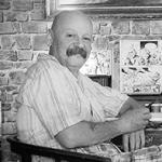 Leo Koller, Jahrgang 1956, lebt und arbeitet als Maler, Komponist und Feingrafiker in Wien.