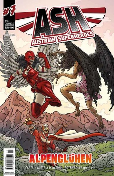 Austrian Superheroes Heft #7 Cover
