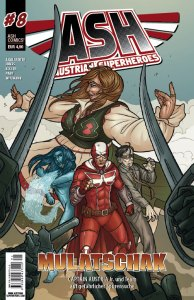 Austrian Superheroes Heft #8 Cover