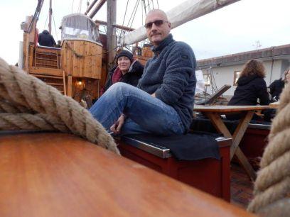Wir bei der Bootsfahrt in Oslo