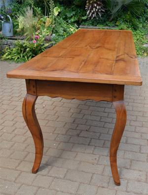 Grande Table De Ferme Ancienne XVIII Me Sicle Avec