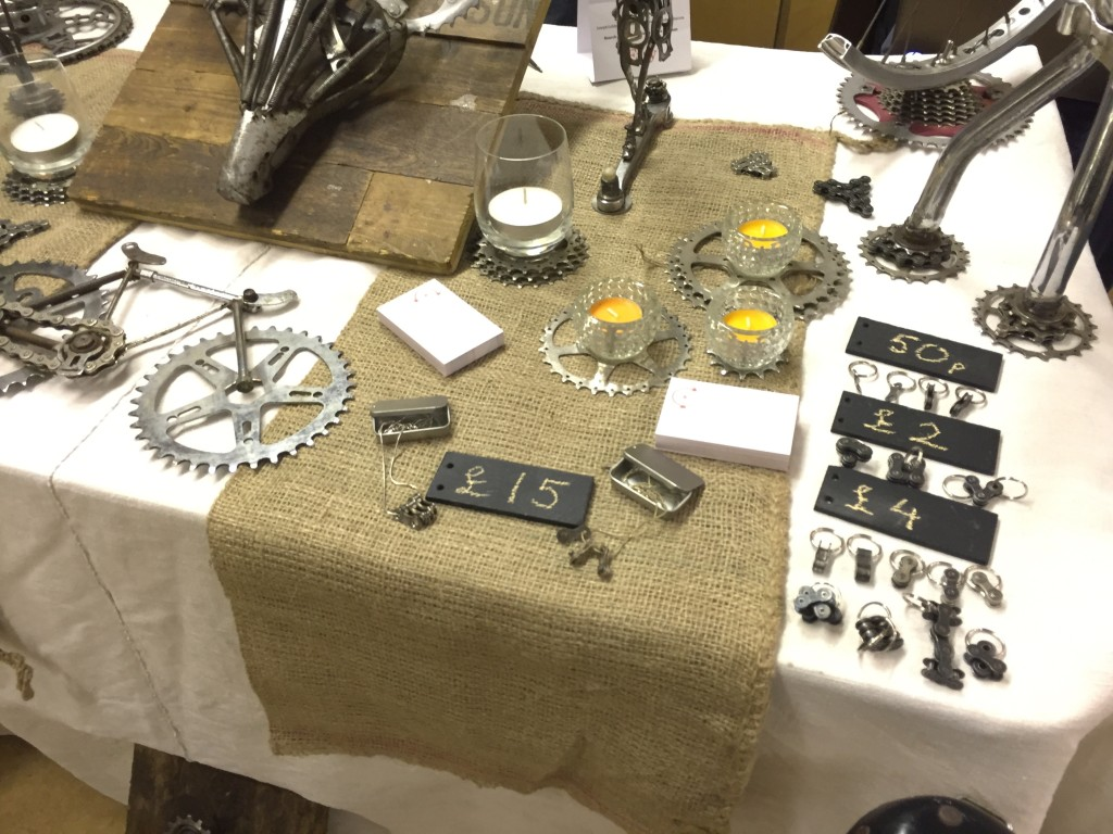 Bespoke Spokes stand at the Crafty Fox Market in the Geffrye museum London, England - by Hannah Cackett (Authentic Gems Travel)
