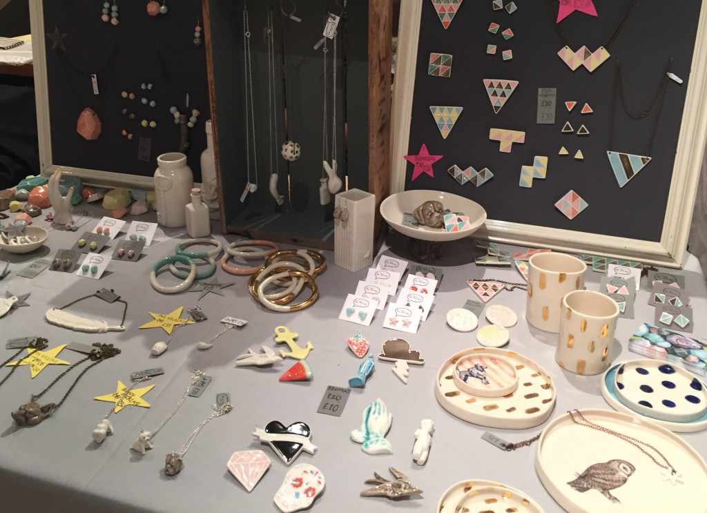 Made by mememe stand at the Crafty Fox Market in the Geffrye museum London, England - by Hannah Cackett (Authentic Gems Travel)